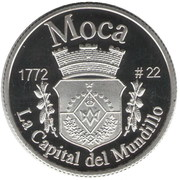 1 Peseta (Moca) – reverse