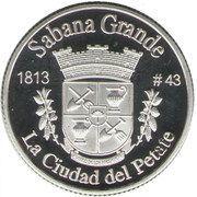 1 Peseta (Sabana Grande) – reverse