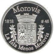 1 Peseta (Morovis) – reverse