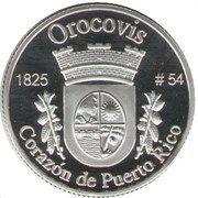 1 Peseta (Orocovis) – reverse