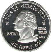 1 Peseta (Rio Grande) – obverse