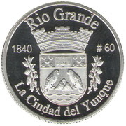 1 Peseta (Rio Grande) – reverse