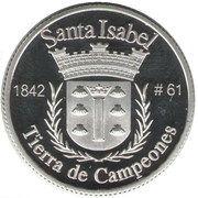 1 Peseta (Santa Isabel) – reverse