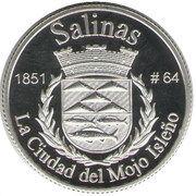 1 Peseta (Salinas) – reverse