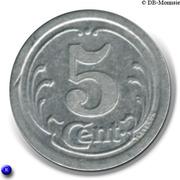 5 Centimes (Falaise) – reverse