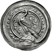 1 Brakteat - Buckhard II. (Ermsleben) – obverse