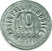 10 Pfennig - Fallingbostel – obverse