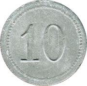 10 Pfennig - Fallingbostel – reverse