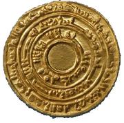 Dinar - Al-Mu'izz li-Din Allah - 953-975 AD – obverse