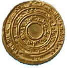 Dinar - Al-Mu'izz li-Din Allah – reverse
