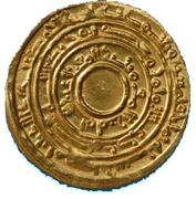 Dinar - Al-Mu'izz li-Din Allah - 953-975 AD – reverse
