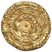 Dinar - Al-Mu'izz li-Din Allah (Al-Mansuriya mint) – reverse