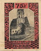 75 Heller (Feldkirchen am Inn) -  obverse