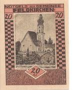 20 Heller (Feldkirchen am Inn) -  obverse