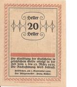 20 Heller (Feldkirchen am Inn) -  reverse