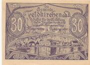 30 Heller (Feldkirchen an der Donau) – obverse