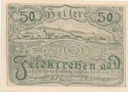 50 Heller (Feldkirchen an der Donau) – obverse