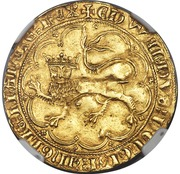 Léopard d'or - Edward III - 3rd Issue – obverse
