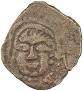 Unknown Æ - Anonymous (Ferghana; facing left; without cross; regular tamgha) – obverse