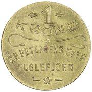 1 Krone (S. P. Petersens EFTF) – obverse
