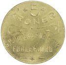 5 Kroner (S. P. Petersens EFTF) – obverse
