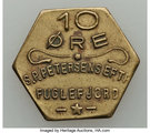 10 Øre (S. P. Petersens EFTF; Small letters) – obverse