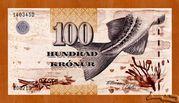 100 Krónur – obverse