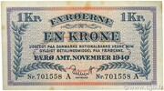 1 Krone -  obverse