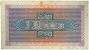 1 Krone – reverse
