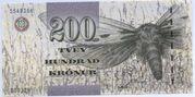 200 Krónur – obverse