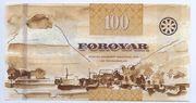 100 Krónur – reverse