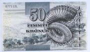 50 Krónur – obverse