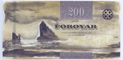 200 Krónur – reverse