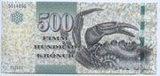 500 Krónur – obverse
