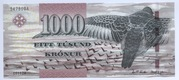 1000 Krónur – obverse