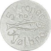 5 Kroner (J. F. Kjølbro) – obverse