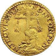 1 Scudo d'Oro - Ercole II – reverse