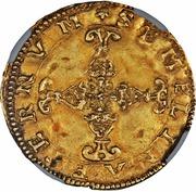 1 Scudo d'Oro - Alfonso II – reverse