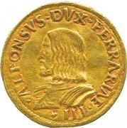 2 Ducati - Alfonso I – obverse
