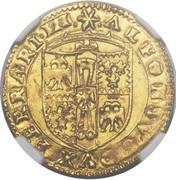 1 Scudo d'Oro - Alfonso I – obverse