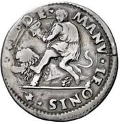 ½ Lira - Alfonso I – reverse