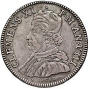 1 Piastra - Clemente XI – obverse