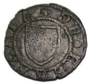 Quattrino, Borso d'Este (1471) – reverse