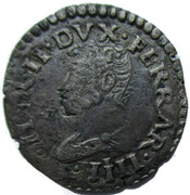 Grossetto - Ercole II 1534-1559 – obverse