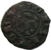 Denaro, Obizzo (1344-1352) – obverse