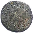 Quattrino - Alfonso II – obverse