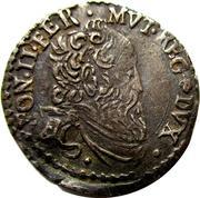Alfonso II - Giorgino 1596-1597 – obverse