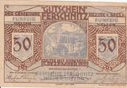 50 Heller (Ferschnitz) -  obverse