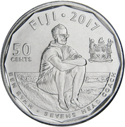 50 Cents (Rugby 7's) – reverse