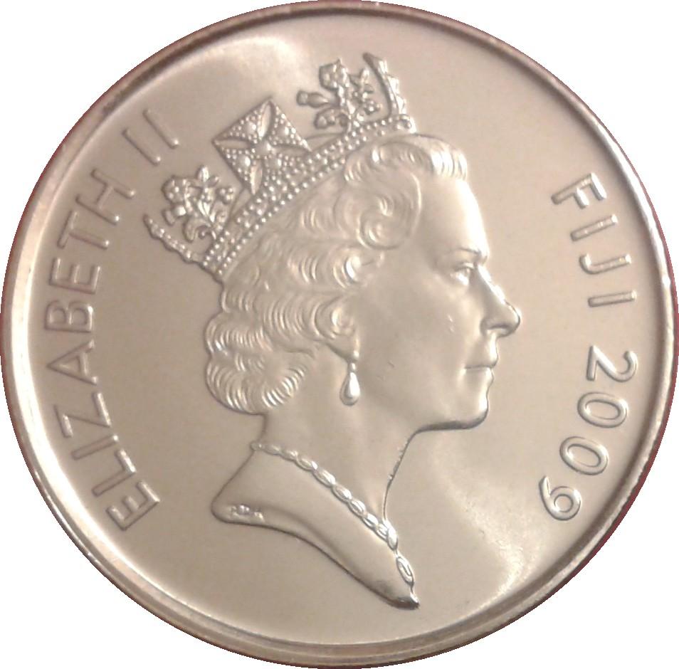 20 Cents Elizabeth Ii 3rd Portrait